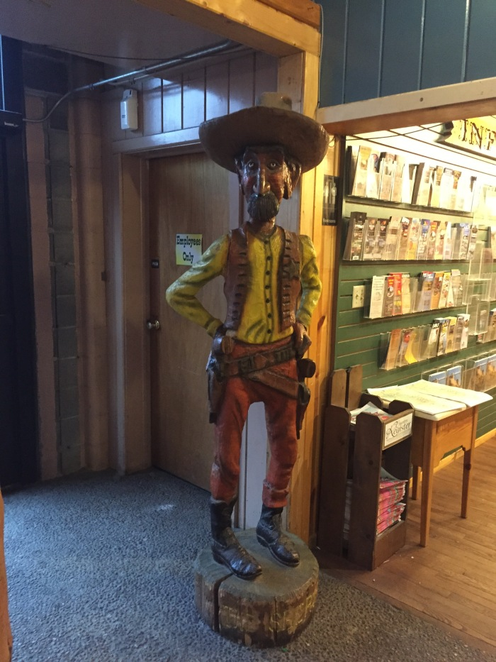 cool statue at Wall Drug