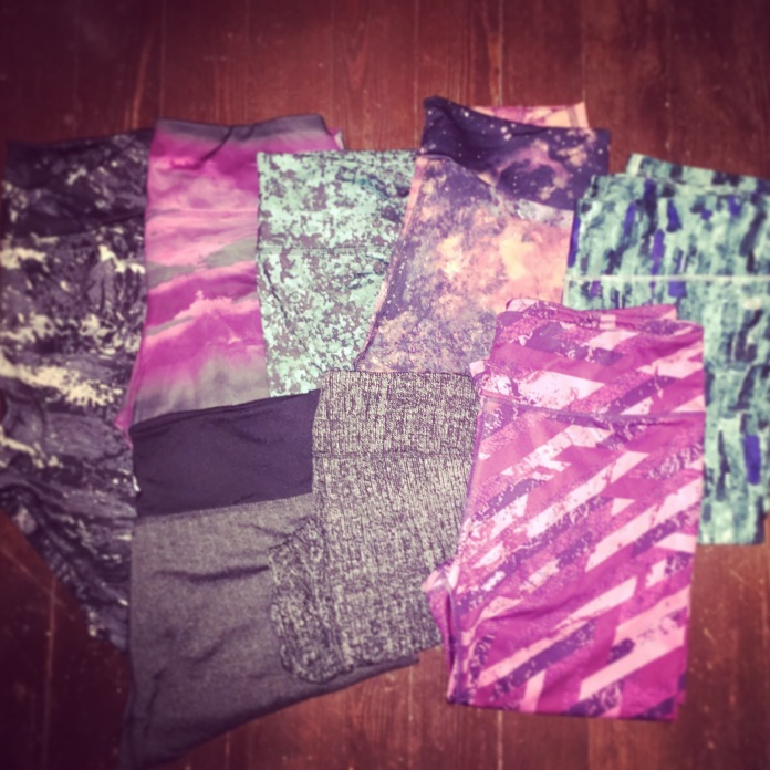 crazy pants collection - not even all of them!