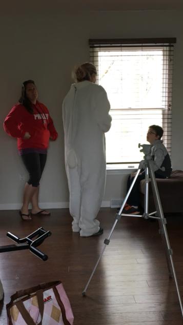 ...directing my nephew