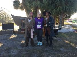 runDisney Dopey Challenge half Marathon 2018 Jack Sparrow