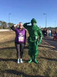 runDisney Dopey Challenge half Marathon 2018 toy soldier