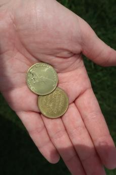 Kaskaskia Dragon Coins