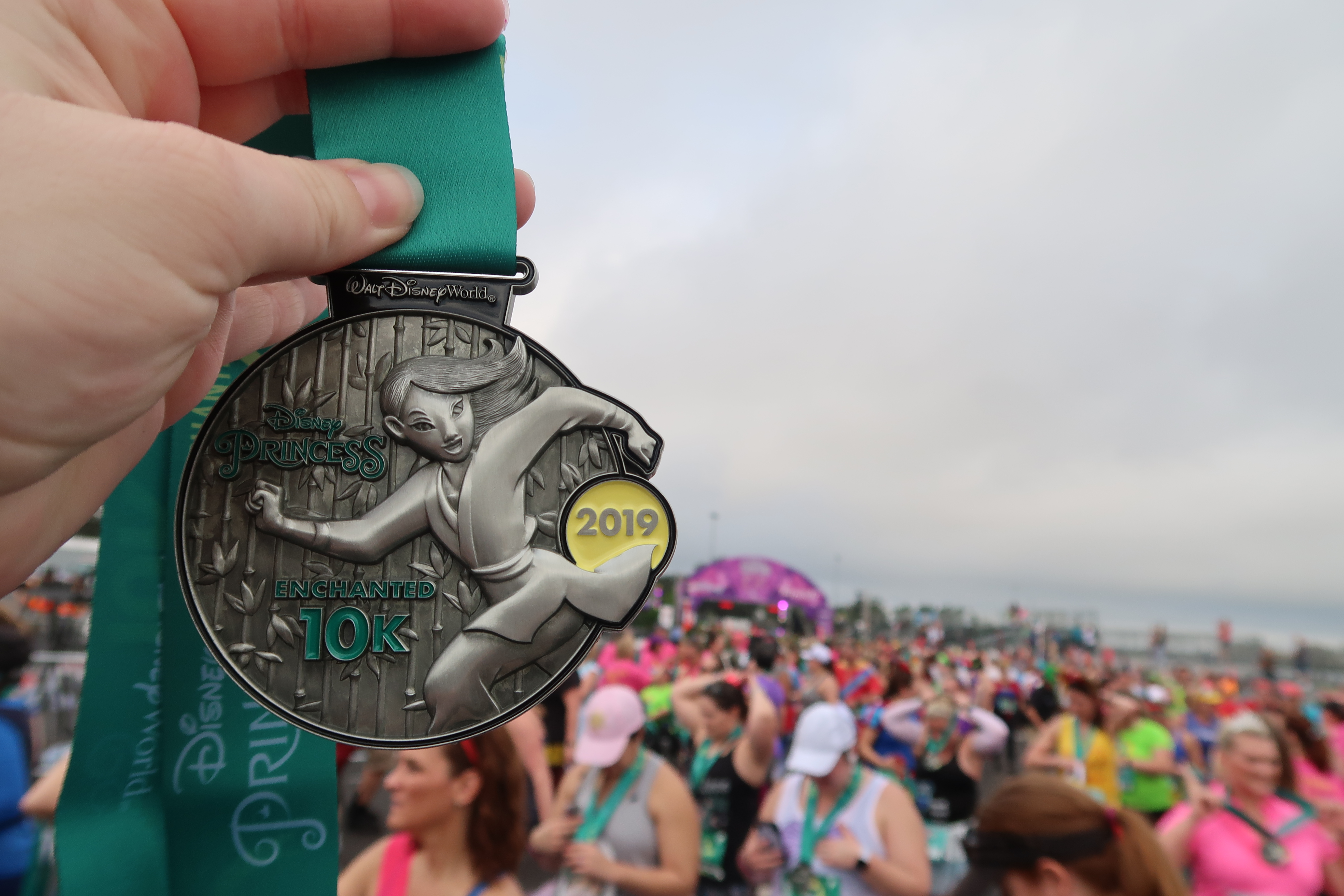 Fairy Tale Challenge 10K medal